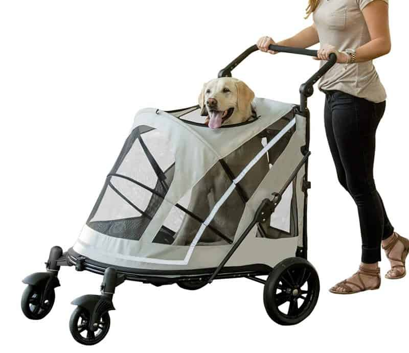 5f38c76fe85 Pet Gear No-Zip Jogger Pet Stroller for Cats Dogs Review